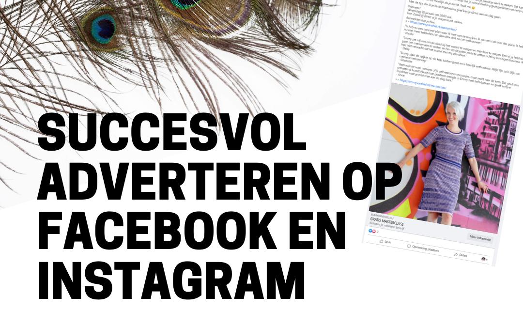 Online Training | Adverteren op Facebook en Instagram